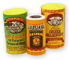Spice and Seasoning Cans | Paper Core Manufacturer